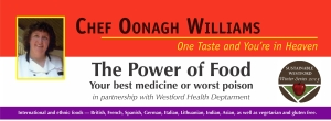 Chef Oonagh Williams - Power of Food posterTOPONLY